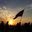 سوگواره پنجم-عکس 8-زهرا شهید-پیاده روی اربعین از نجف تا کربلا