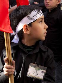 فراخوان ششمین سوگواره عاشورایی عکس هیأت-رضا فلاحی مطلق-بخش جنبی-هیأت کودک