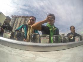 سوگواره چهارم-عکس 10-علی  حسن زاده-پیاده روی اربعین از نجف تا کربلا