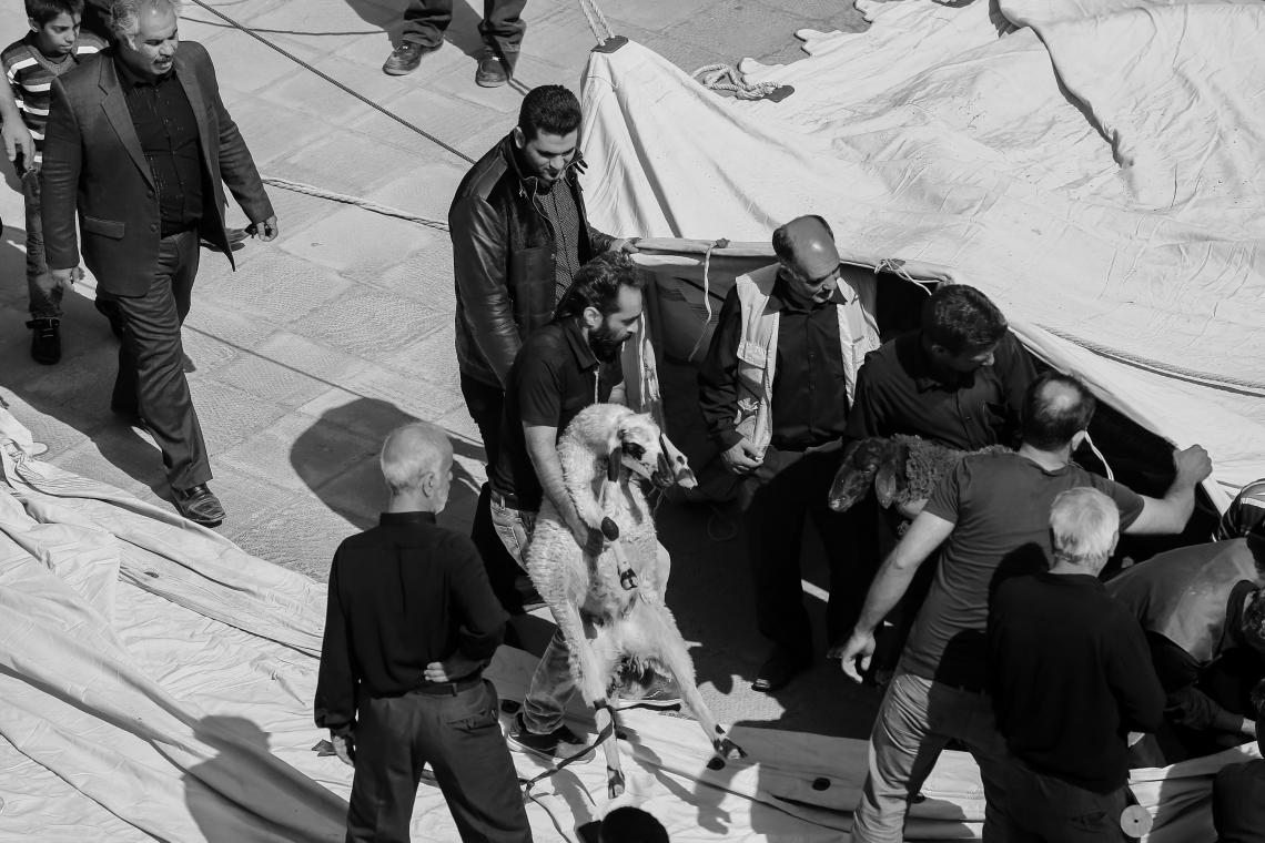 سوگواره پنجم-عکس 60-مجید حجتی-جلسه هیأت فضای بیرونی