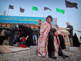 سوگواره سوم-عکس 28-حسین استوار -پیاده روی اربعین از نجف تا کربلا