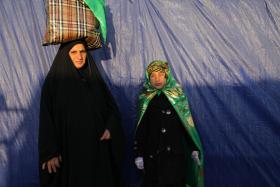 سوگواره سوم-عکس 103-حسین استوار -پیاده روی اربعین از نجف تا کربلا