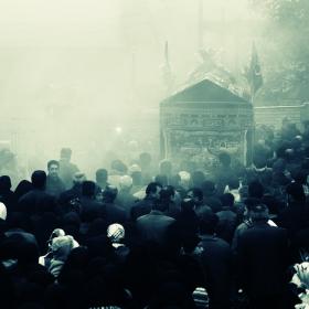 سوگواره سوم-عکس 1-علی صالحی زیارانی-آیین های عزاداری