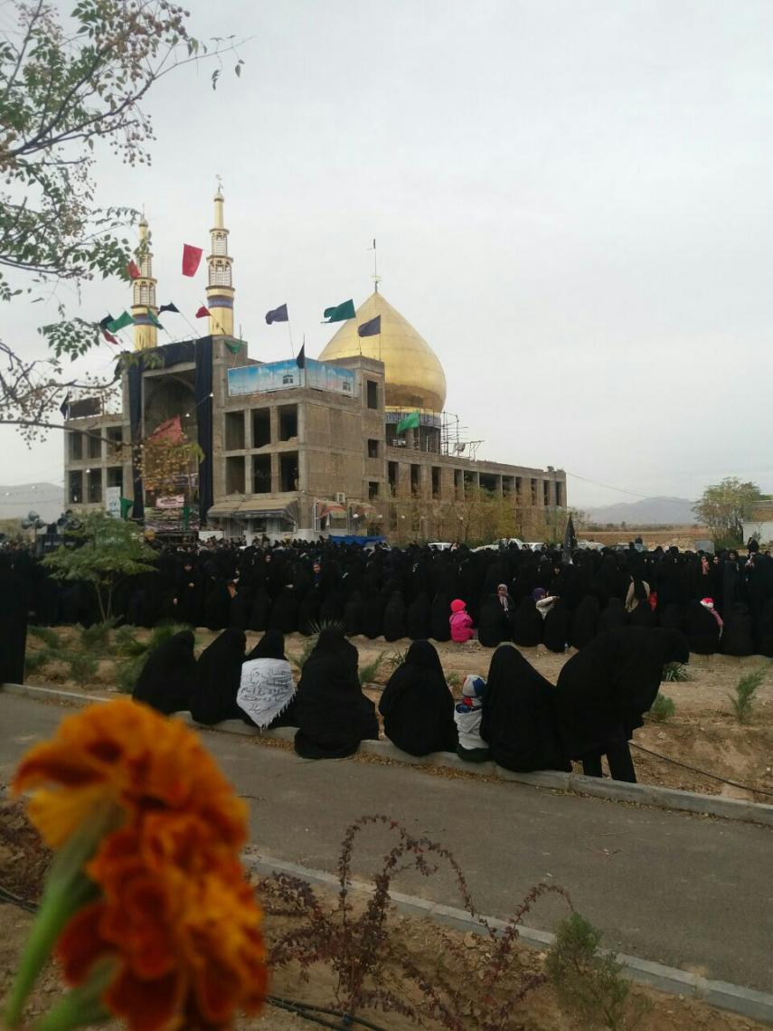 سوگواره پنجم-عکس 1-فاطمه رحیمی محمدآبادی-جلسه هیأت