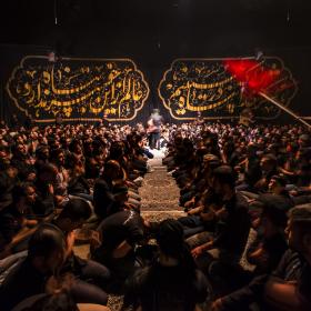 فراخوان ششمین سوگواره عاشورایی عکس هیأت-محمد حسين دهقاني-بخش اصلی -جلسه هیأت