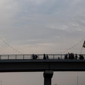 سوگواره چهارم-عکس 22-علی  حسن زاده-پیاده روی اربعین از نجف تا کربلا