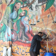 سوگواره سوم-عکس 26-محمد  آهنگر-جلسه هیأت فضای بیرونی
