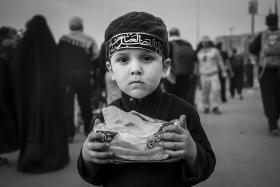سوگواره پنجم-عکس 18-میلاد نعلبندیان-پیاده روی اربعین از نجف تا کربلا