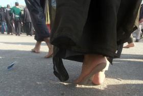 سوگواره سوم-عکس 11-محمد رفیعی موحد-پیاده روی اربعین از نجف تا کربلا