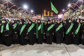 سوگواره پنجم-عکس 2-محمود صادقی-پیاده روی اربعین از نجف تا کربلا