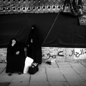 سوگواره سوم-عکس 53-حسین استوار -پیاده روی اربعین از نجف تا کربلا