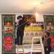 سوگواره دوم-عکس 3-پوستر هیأت مکتب الحسین بهشهر-جلسه هیأت فضای بیرونی