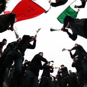 سوگواره دوم-عکس 10-رضا نجفلو-پیاده روی اربعین از نجف تا کربلا