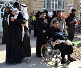 سوگواره دوم-عکس 23-محمدامین غفاری-پیاده روی اربعین از نجف تا کربلا
