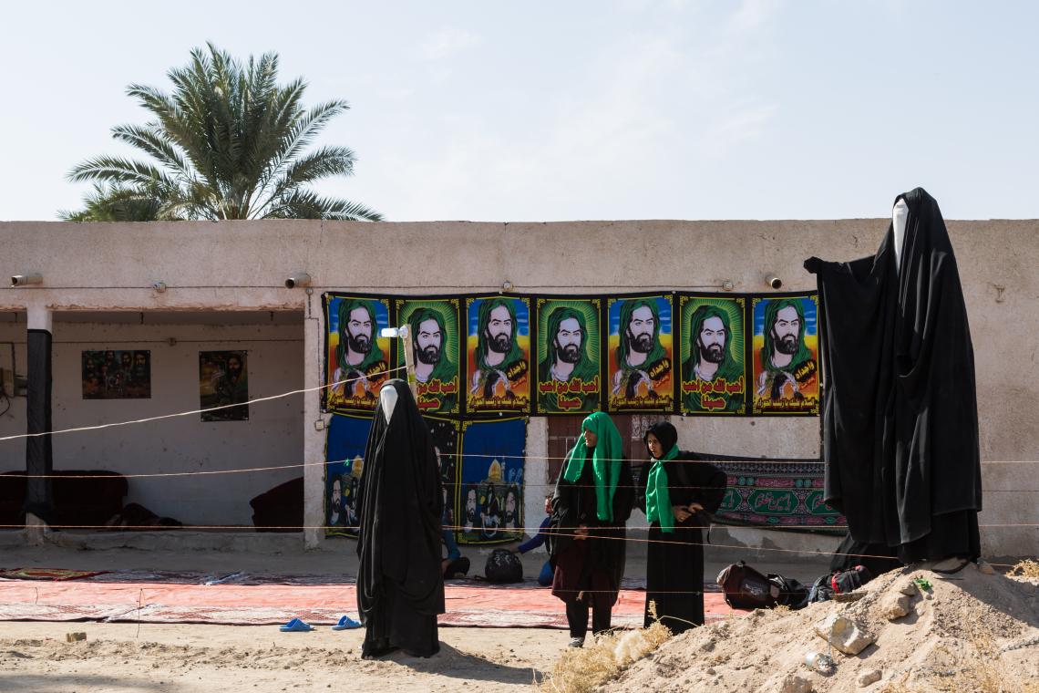 سوگواره پنجم-عکس 63-مرتضی امین الرعایایی-پیاده روی اربعین از نجف تا کربلا