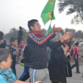 سوگواره سوم-عکس 10-احسان ارباب پوری-پیاده روی اربعین از نجف تا کربلا