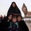 سوگواره سوم-عکس 8-سعید شیرازی-پیاده روی اربعین از نجف تا کربلا
