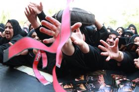 سوگواره پنجم-عکس 12-احسان مهدیان-پیاده روی اربعین از نجف تا کربلا