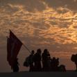 سوگواره چهارم-عکس 1-حسین نظرعلی-پیاده روی اربعین از نجف تا کربلا