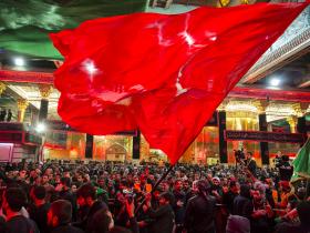 سوگواره پنجم-عکس 25-علی تیموری-پیاده روی اربعین از نجف تا کربلا