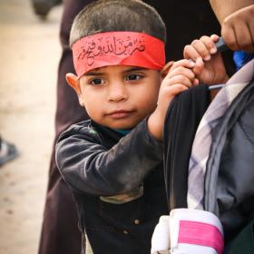 سوگواره چهارم-عکس 13-محمد رضا میثمی-پیاده روی اربعین از نجف تا کربلا