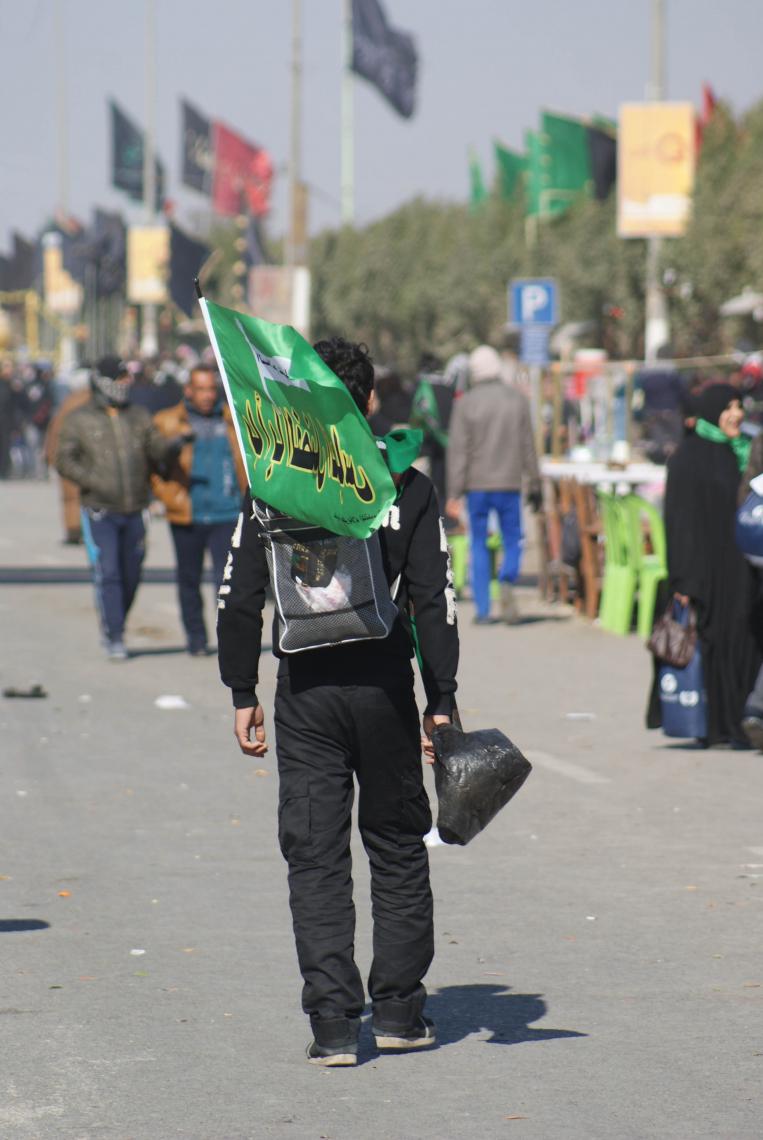 سوگواره دوم-عکس 41-محسن مرادی-پیاده روی اربعین از نجف تا کربلا