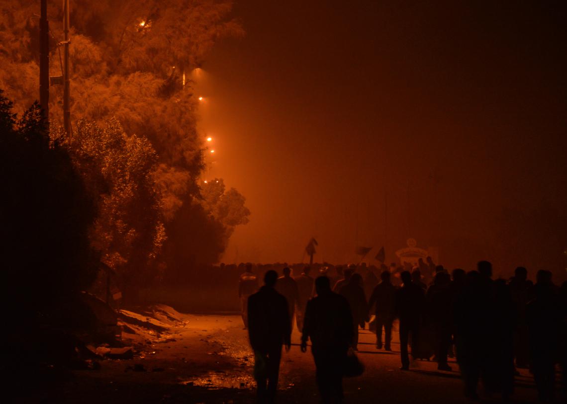 سوگواره سوم-عکس 4-محمد حسین عیدی-پیاده روی اربعین از نجف تا کربلا