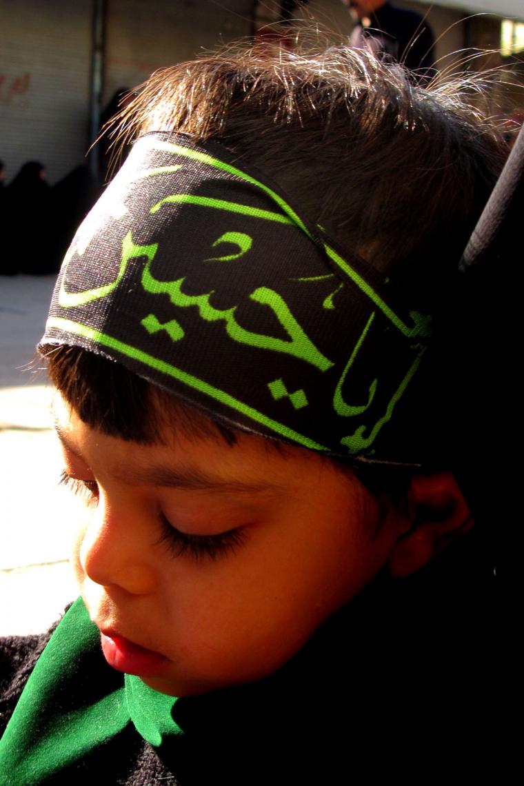 سوگواره چهارم-عکس 13-هانیه فیروزآبادی-آیین های عزاداری