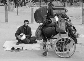 سوگواره پنجم-عکس 47-امیر عنایتی-پیاده روی اربعین از نجف تا کربلا