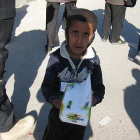 سوگواره دوم-عکس 85-محمد کشاورز-پیاده روی اربعین از نجف تا کربلا
