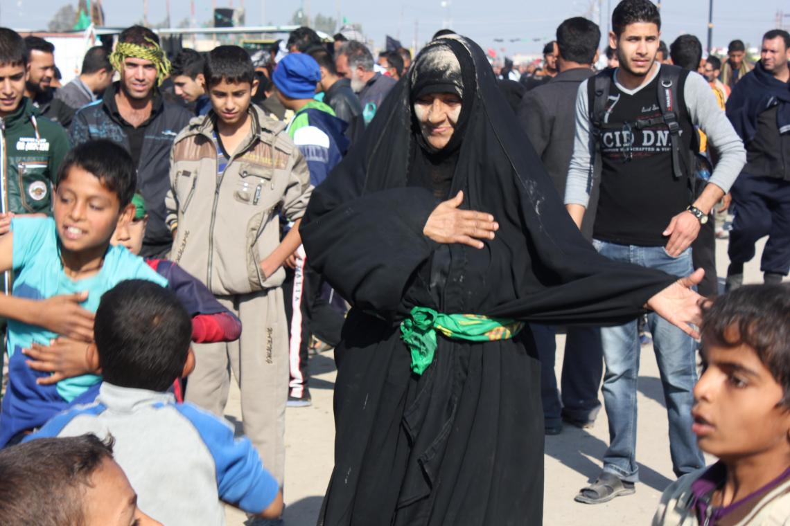سوگواره سوم-عکس 2-عمار ابوالفتحی-پیاده روی اربعین از نجف تا کربلا