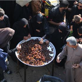 سوگواره چهارم-عکس 24-علی دوست-پیاده روی اربعین از نجف تا کربلا