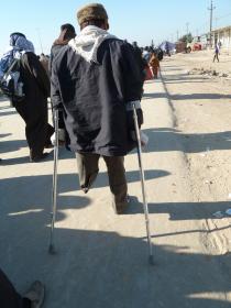 سوگواره دوم-عکس 8-حسین مذنب-پیاده روی اربعین از نجف تا کربلا