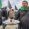 سوگواره چهارم-عکس 29-سید یحیی طباطبائی-پیاده روی اربعین از نجف تا کربلا