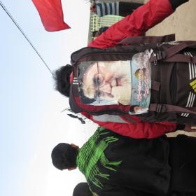 سوگواره سوم-عکس 12-محمد ابراهیمی-پیاده روی اربعین از نجف تا کربلا