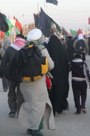 سوگواره دوم-عکس 4-ابراهیم نصیری-پیاده روی اربعین از نجف تا کربلا
