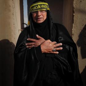 سوگواره سوم-عکس 109-حسین استوار -پیاده روی اربعین از نجف تا کربلا