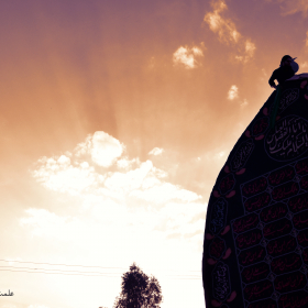 سوگواره دوم-پوستر 7-محسن احمدی چرخابی-پوستر عاشورایی