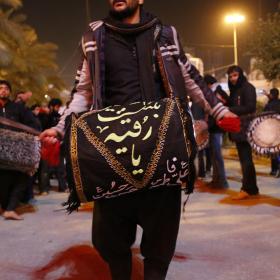سوگواره سوم-عکس 4-علی بیات-پیاده روی اربعین از نجف تا کربلا