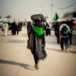 هشتمین سوگواره عاشورایی عکس هیأت-حمزه دیندار-جنبی-پیاده روی اربعین حسینی