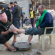 سوگواره چهارم-عکس 2-عبدالمجید اکبری-پیاده روی اربعین از نجف تا کربلا