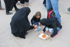 سوگواره پنجم-عکس 9-سعید معارف وند -پیاده روی اربعین از نجف تا کربلا