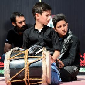 سوگواره پنجم-عکس 13-آمنه محمدی-جلسه هیأت