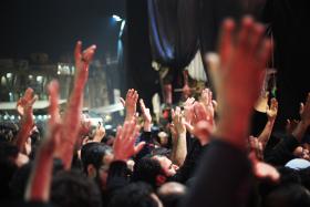 سوگواره سوم-عکس 16-محمد حسن صلواتی-جلسه هیأت فضای بیرونی