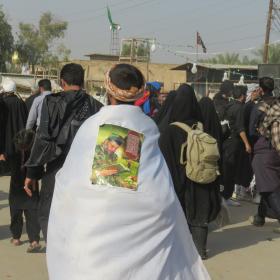 سوگواره سوم-عکس 3-محمد ابراهیمی-پیاده روی اربعین از نجف تا کربلا