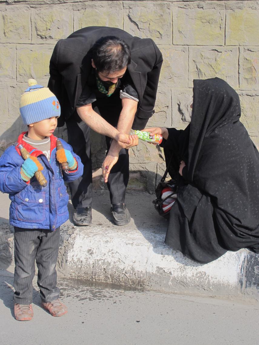 سوگواره دوم-عکس 24-سید صالح پورمعروفی-پیاده روی اربعین از نجف تا کربلا
