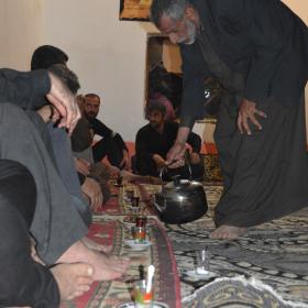 سوگواره سوم-عکس 2-احسان ارباب پوری-پیاده روی اربعین از نجف تا کربلا