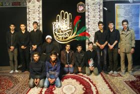سوگواره سوم-عکس 5-عین الله متقی زاده-جلسه هیأت یادبود