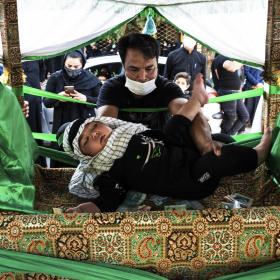 نهمین سوگواره عاشورایی عکس هیأت-علی آذر-مجالس احیای امر اهلالبیت علیهمالسلام