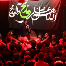 سوگواره پنجم-عکس 1-محمد رحمانی-جلسه هیأت
